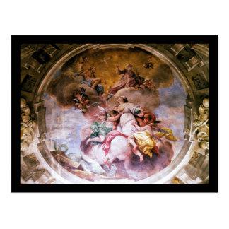 Cartão - St. Margherita de Antioch, Florença ELE Cartão Postal