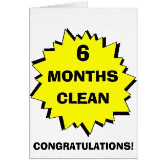 Cartão Starburst 6 meses limpa