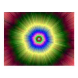 Cartão super da nova do arco-íris