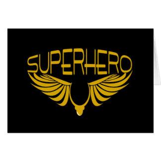 Cartão Super-herói