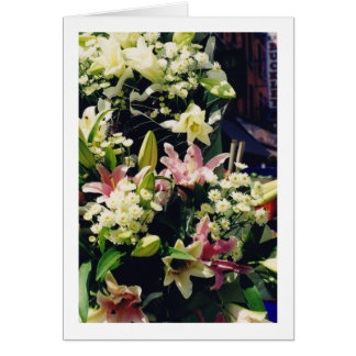 Cartão Suporte de flor em Dublin Ireland