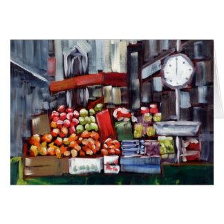 Cartão Suporte de fruta