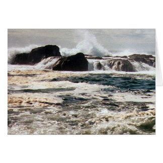 Cartão Surf de Pacfic, Tofino