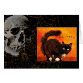 Cartão Susto do Dia das Bruxas