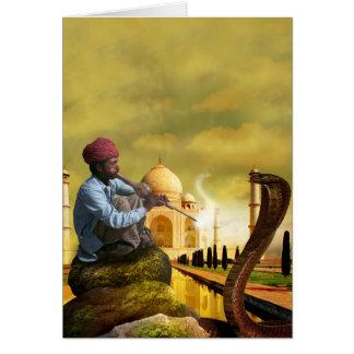 Cartão Taj Mahal