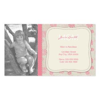 Cartão telefónico feito sob encomenda da foto das cartão de visita