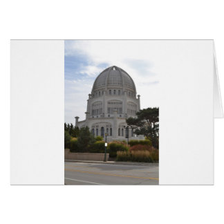 Cartão Templo de Bahai em Wilmette, IL