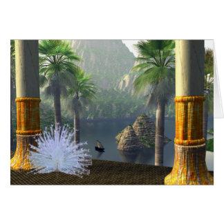 Cartão Templo de Elarnum - Lemuria