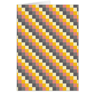 Cartão Teste padrão abstrato da cor da grade