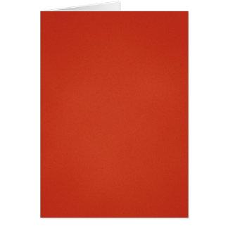 Cartão Textura granulado vermelha morna moderna