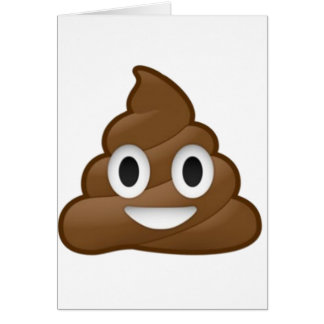 Cartão Tombadilho de sorriso Emoji