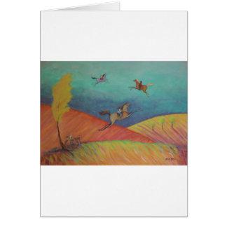 Cartão Toque na variedade do presente do céu