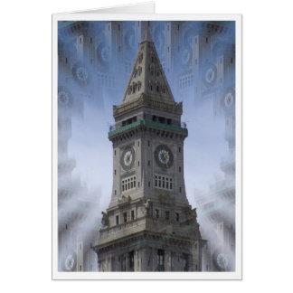 Cartão Torre de pulso de disparo da casa feita sob