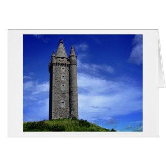 Cartão Torre de Scrabo