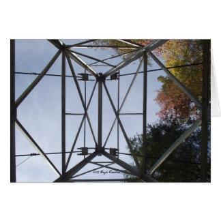 Cartão Torre na central eléctrica do Appalachia