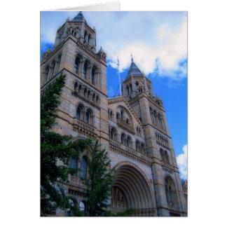 Cartão Torres que aumentam em Londres