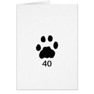 Cartão Trilhas do puma