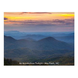 Cartão - um remendo máximo apalaches do crepúsculo cartoes postais