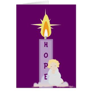Cartão Uma ESPERANÇA Oração-Personaliza