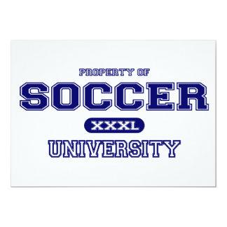 Cartão Universidade do futebol