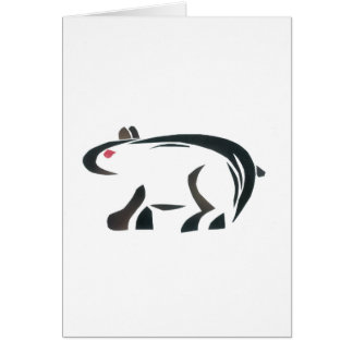 Cartão Urso