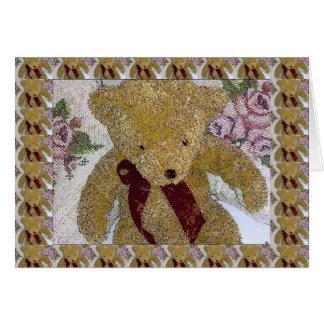 Cartão Urso de ursinho