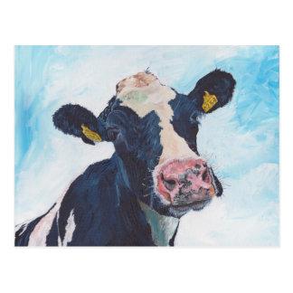 Cartão - vaca do frisão de 0254 irlandeses