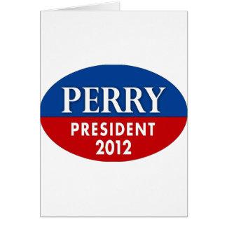 Cartão Vai Perry 2012