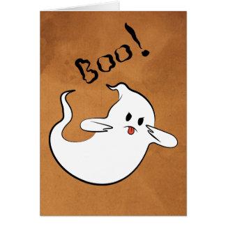 Cartão Vaia! Fantasma