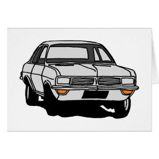 Cartão Vauxhall branco Viva HC