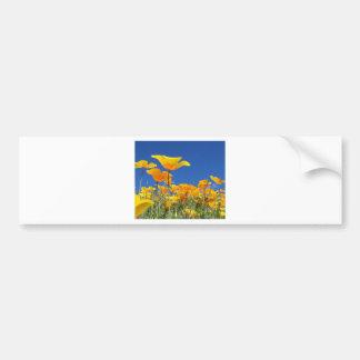 Cartão vazio da flor adesivo para carro