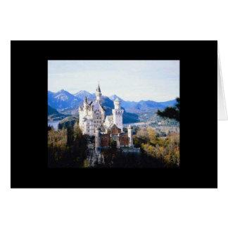 Cartão Vazio de Alemanha do castelo de Neuschwanstein