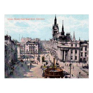 Cartão velho - Aberdeen, Scotland