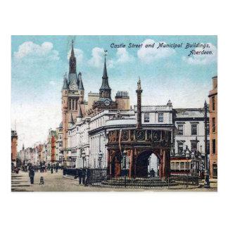 Cartão velho - Aberdeen, Scotland Cartão Postal