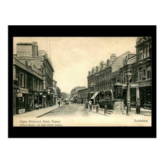 Cartão velho - Londres, Putney, estrada superior Cartão Postal