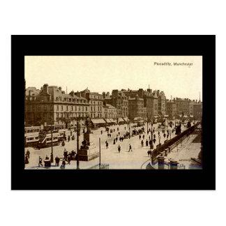 Cartão velho, Manchester, Piccadilly
