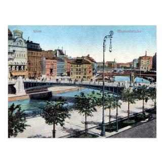 Cartão velho - Marienbrücke, Wien