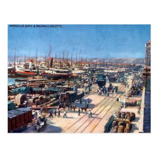 Cartão velho - Marselha Cartão Postal