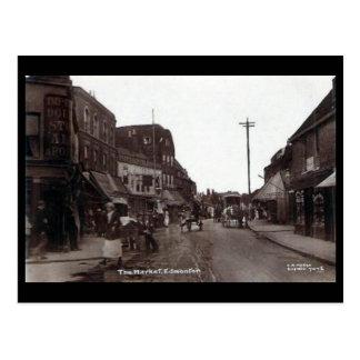 Cartão velho - mercado de Edmonton. Londres