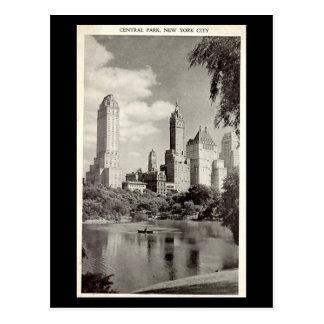 Cartão velho - Nova Iorque, Central Park Cartão Postal
