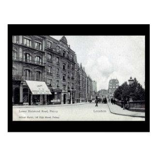 Cartão velho - Putney, Londres Cartão Postal