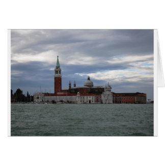 Cartão Veneza pelo mar