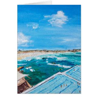 Cartão Verão dos iceberg de Bondi