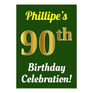 Cartão Verde, celebração do aniversário do 90 do ouro do