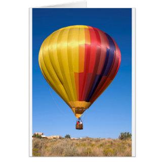 Cartão Viagem Ballooning do esporte do balão de ar quente