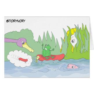 Cartão Vida da lagoa