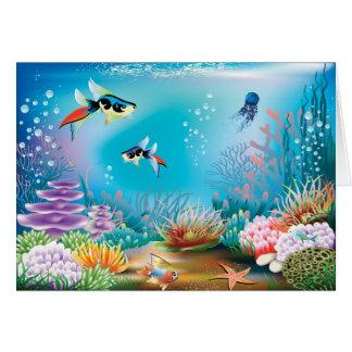 Cartão Vida submarina