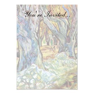 Cartão Vincent van Gogh - cerzidores de estrada - belas