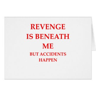 Cartão vingança