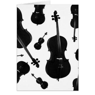 Cartão violoncelo